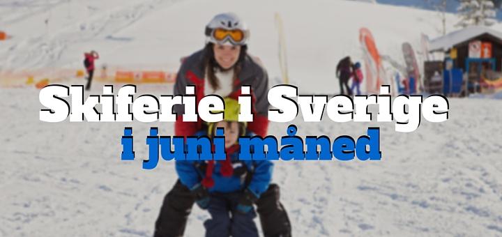Skiferie i Sverige